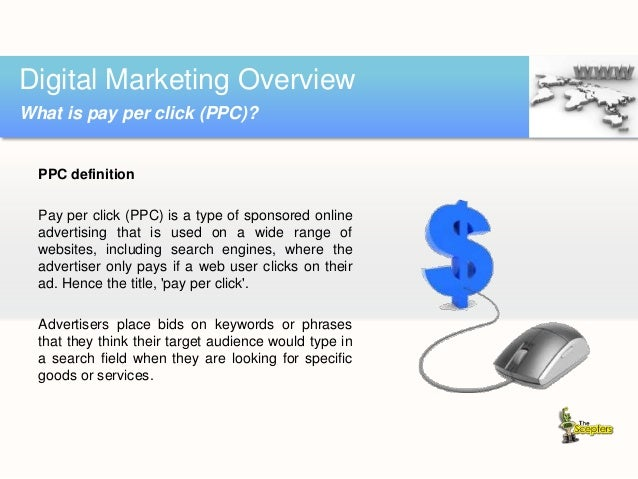  Very fast  Get targeted visitors within hours (sometimes minutes)  Provides a path for search engine optimization  Ca...