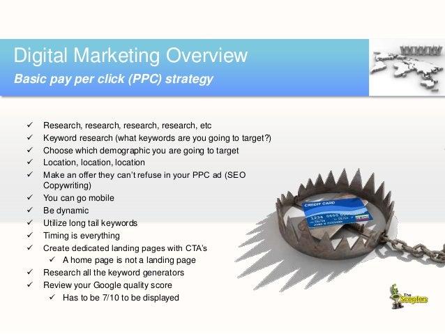 Digital Marketing Overview Social media marketing (SMM)