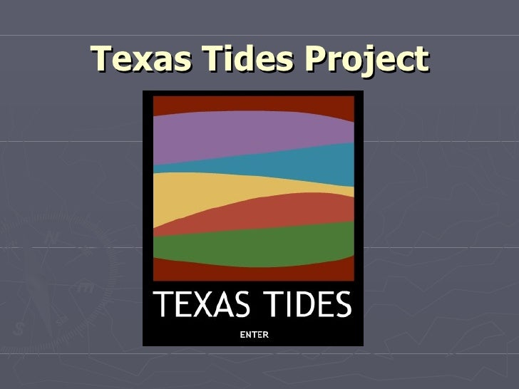 Texas Tides Project