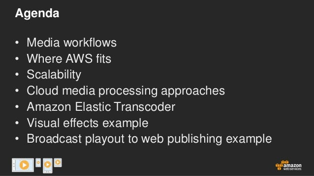 AWS 2013 LA Media Event: Scalable Media Processing Slide 2