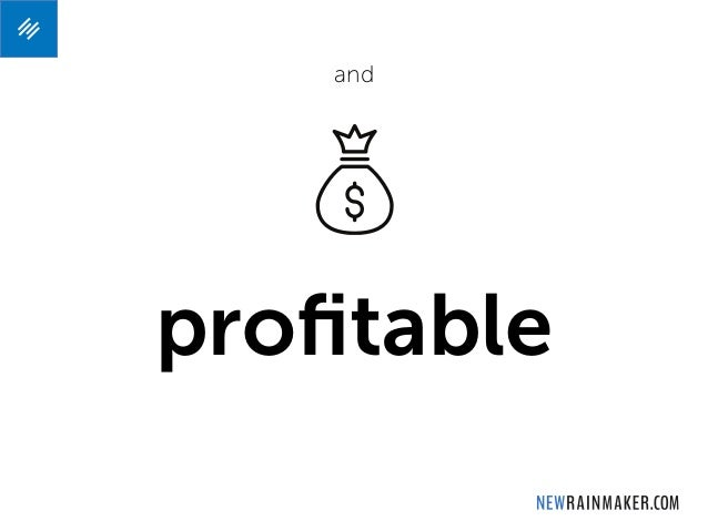 profitable and