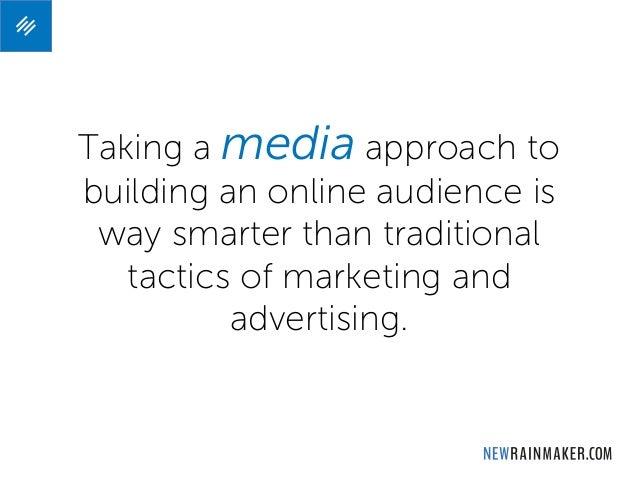 "8 Ways a Digital Media Platform is More Powerful than ""Marketing"" Slide 2"