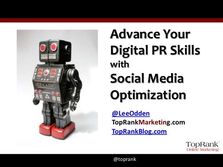 Social Media Optimization Tips from TopRank