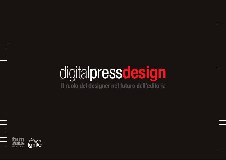digitalpressdesignIl ruolo del designer nel futuro dell'editoria