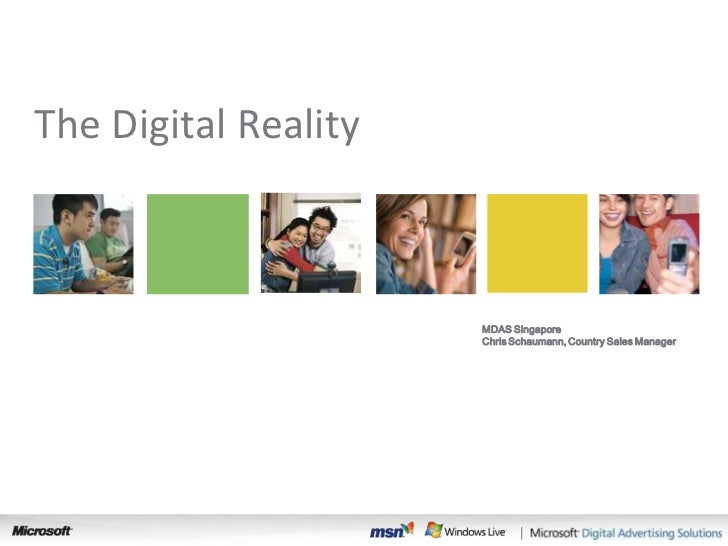 The Digital Reality                         Search                        MDAS Singapore                       Chris Schau...