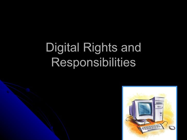 digital rights and responsibilities game
