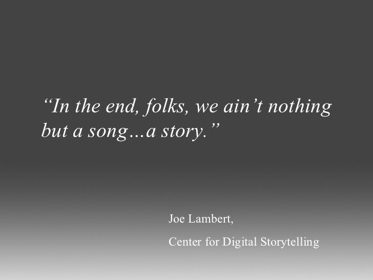 Storytelling Quotes Simple Digital Storytelling Quotes