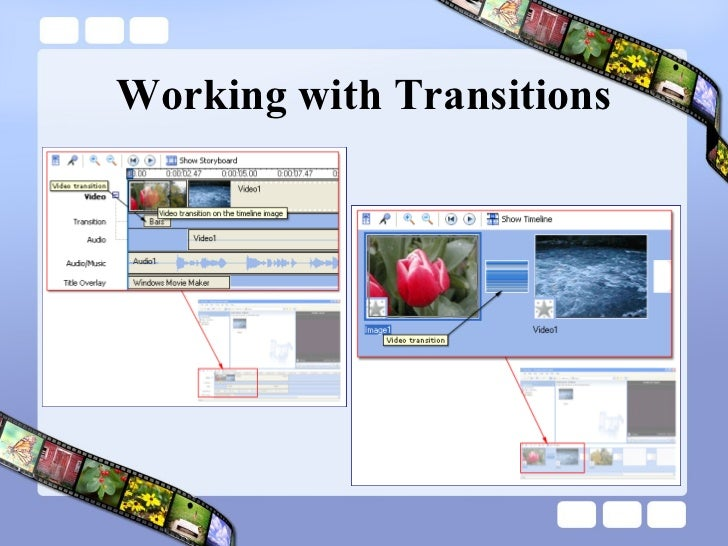 Working with Transitions