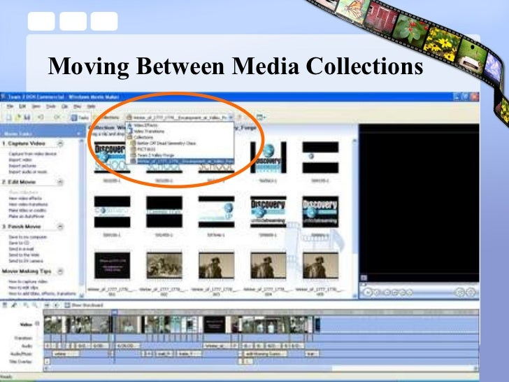 Moving Between Media Collections