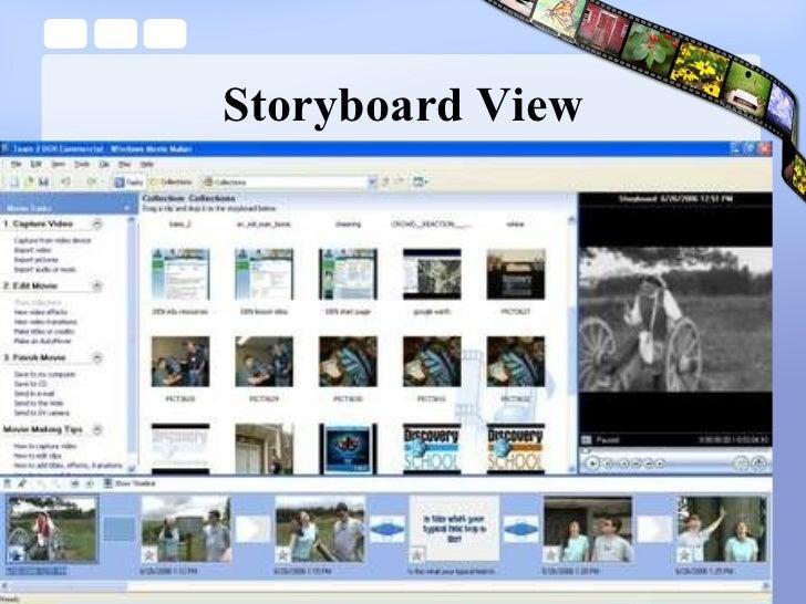 Storyboard View
