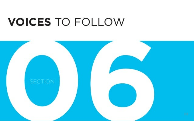 DIGITAL STRATEGY 101, FIRST EDITION BY @BUD_CADDELL 88 VOICES TO FOLLOW SECTION