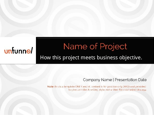 How this project meets business objective.