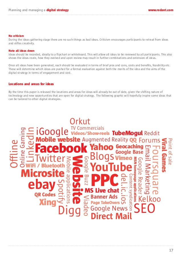 Digital Strategy Whitepaper