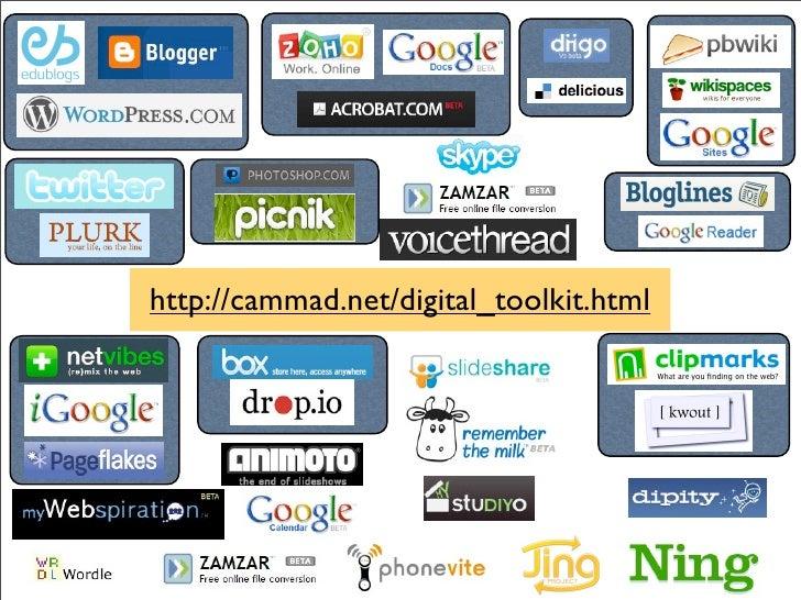 http://cammad.net/digital_toolkit.html