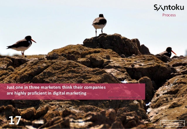 Process  Just one in three marketers think their companies are highly proficient in digital marketing Adobe Digital Distre...