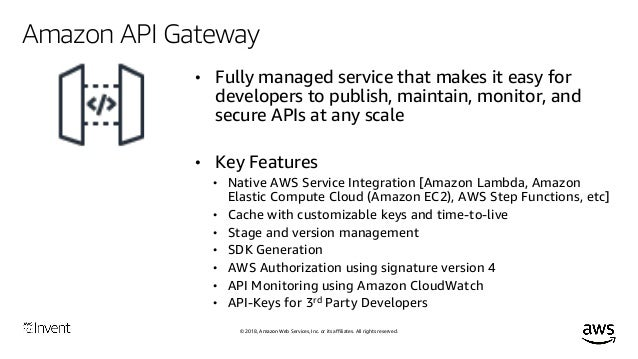 Digital Transformation Through APIs (SRV323) - AWS re:Invent 2018