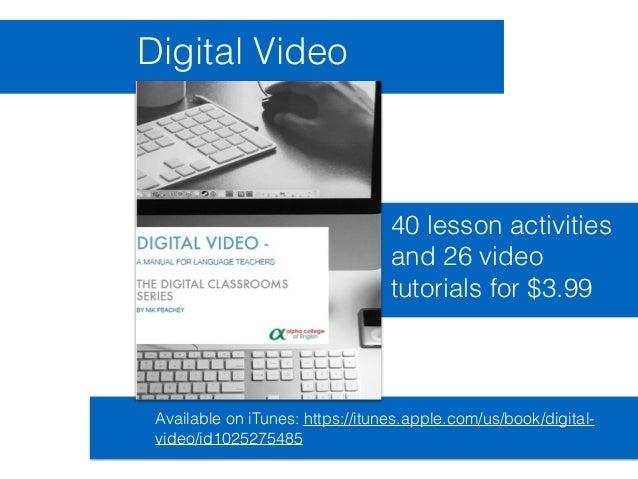 Video Tools for Teachers - Digital Video Slide 3
