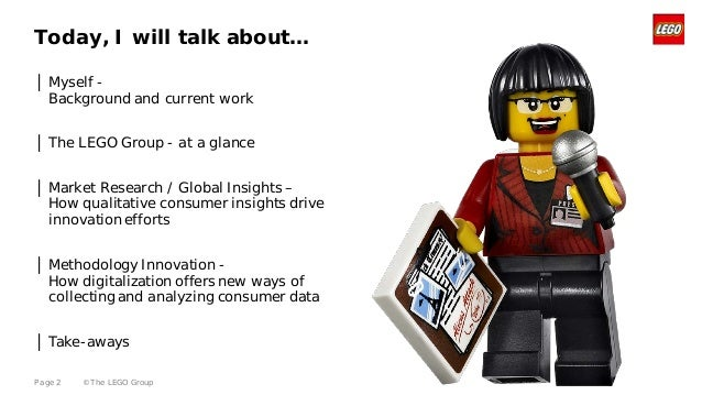 innovation at the lego group Case study 1 innovation at the lego group a&b - 9102014 brief description lego is a toy company established in 1932 by ole kirk christiansen lego offered high.