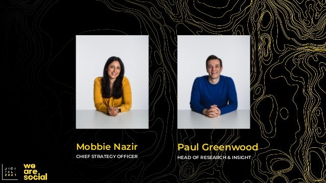 Mobbie Nazir CHIEF STRATEGY OFFICER Paul Greenwood HEAD OF RESEARCH & INSIGHT