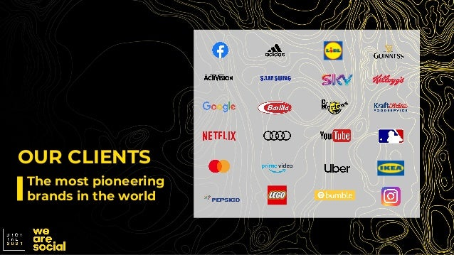 The most pioneering brands in the world OUR CLIENTS