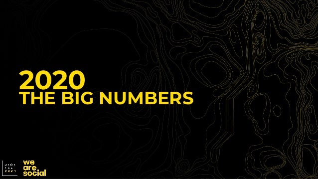 2020 THE BIG NUMBERS