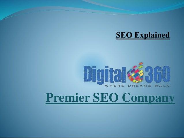 Premier SEO Company