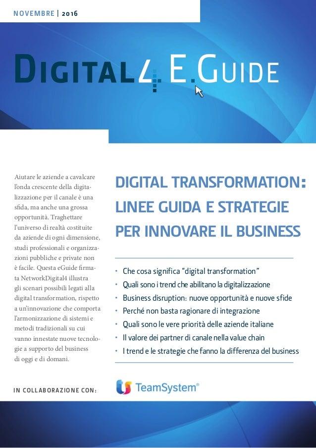 Aiutare le aziende a cavalcare l'onda crescente della digita- lizzazione per il canale è una sfida, ma anche una grossa op...