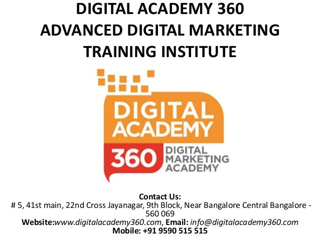 digital marketing institute brochure pdf