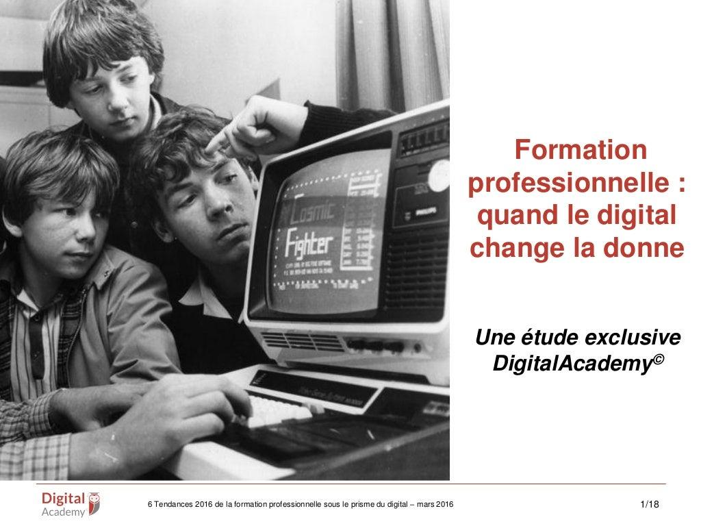 6 tendances de la formation professionnelle : quand le digital change la donne