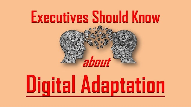 Executives Should Know about Digital Adaptation