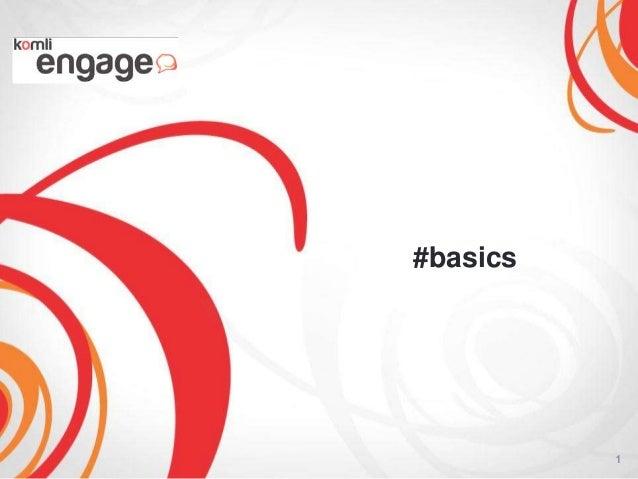 #basics          1