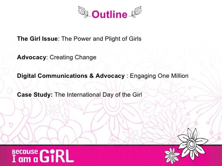 Digital advocacy mobilizing the girl effect Slide 2