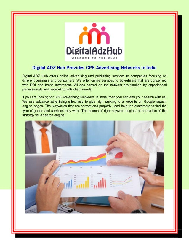 Digital ADZ Hub Provides CPS Advertising Networks in India