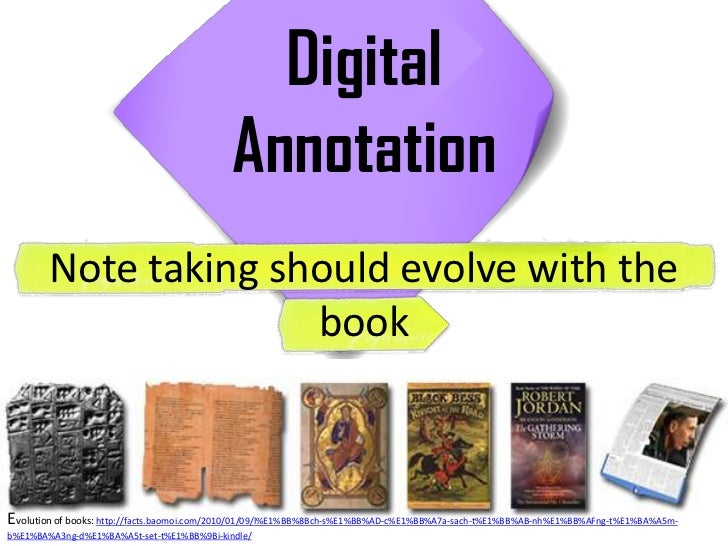 Digital                                            Annotation        Note taking should evolve with the                   ...