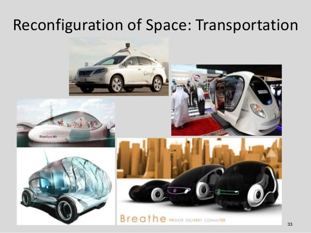 Reconfiguration of Space: Transportation                                      33