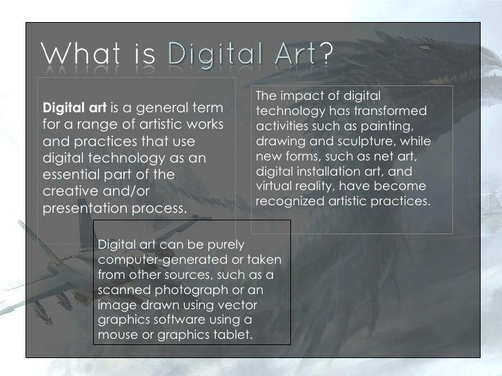 digital art ppt