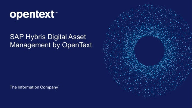 SAP Hybris Digital Asset Management by OpenText