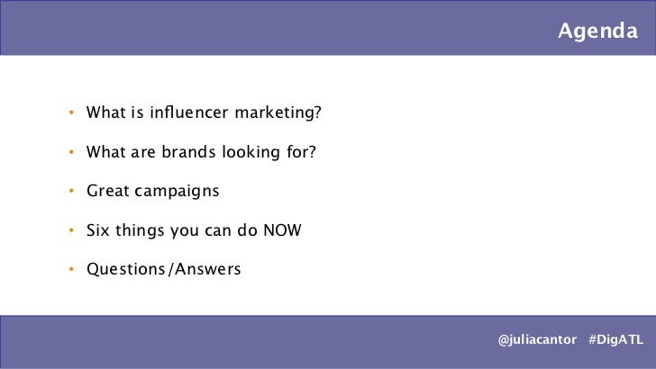 Influencer Marketing: 6 Steps to Gaining the Attention of Top Brands Slide 3