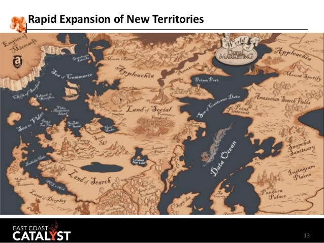 13 Rapid Expansion of New Territories