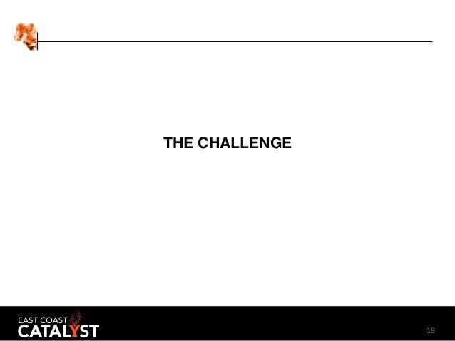 19 THE CHALLENGE