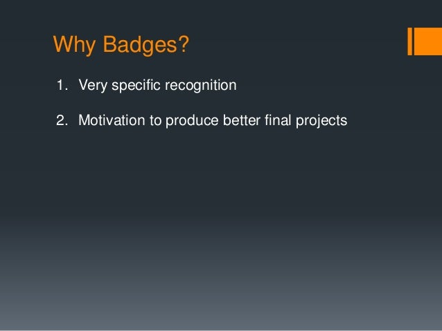 Known Badges  LMS Initiate Design Competition