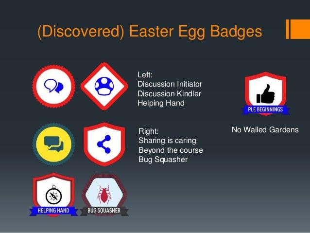 (undiscovered) Easter Egg Badges  Beyond the Basics