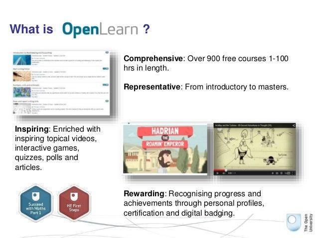 Digital badging at the OU Slide 3