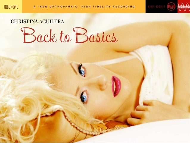 "A  ""NEW  ORTHOPHONIC ""  CHRISTINA AGUILERA  HIGH  FIDELIT Y  RECORDING  82876-82639-2"