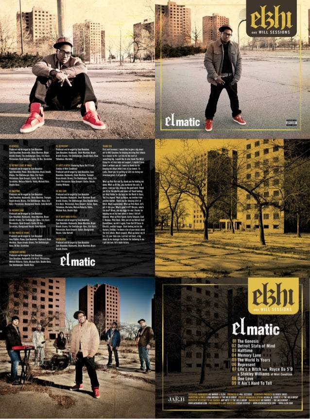 Digital booklet   [elmatic]