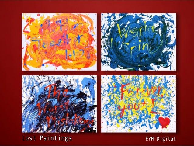 Lost Paintings   EYM Digital