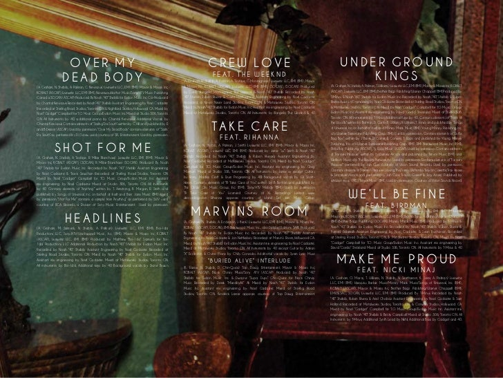 take care digital booklet