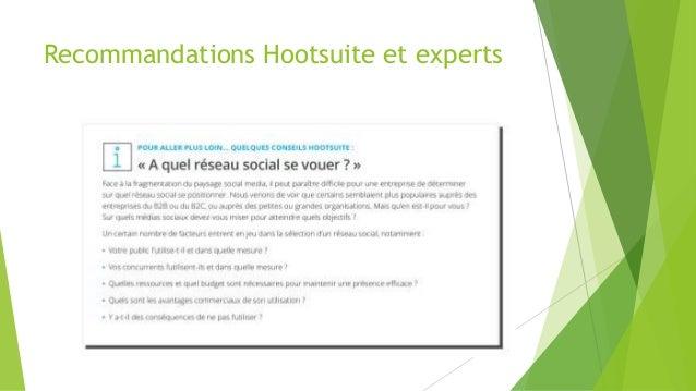 Recommandations Hootsuite et experts