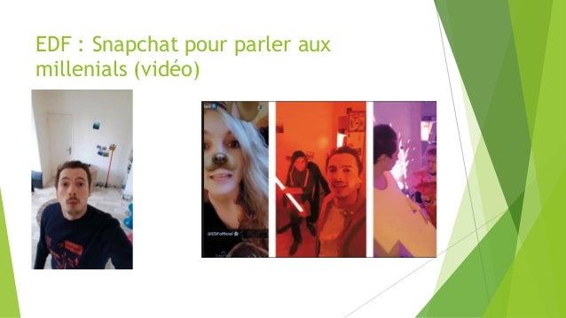 EDF : Snapchat pour parler aux millenials (vidéo)