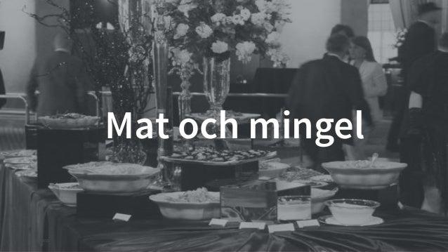 © Creuna  Mat och mingel